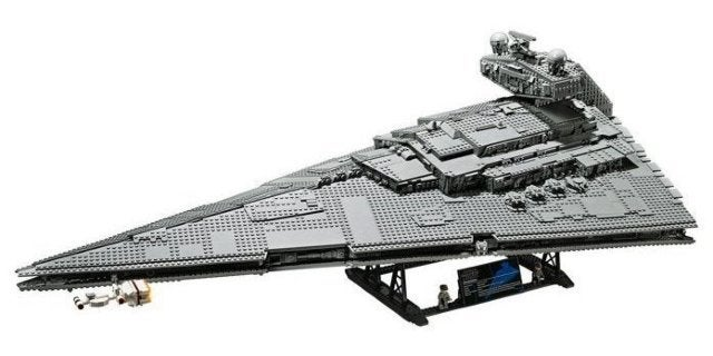 LEGO's Star Wars UCS Imperial Star Destroyer Set is Available Now