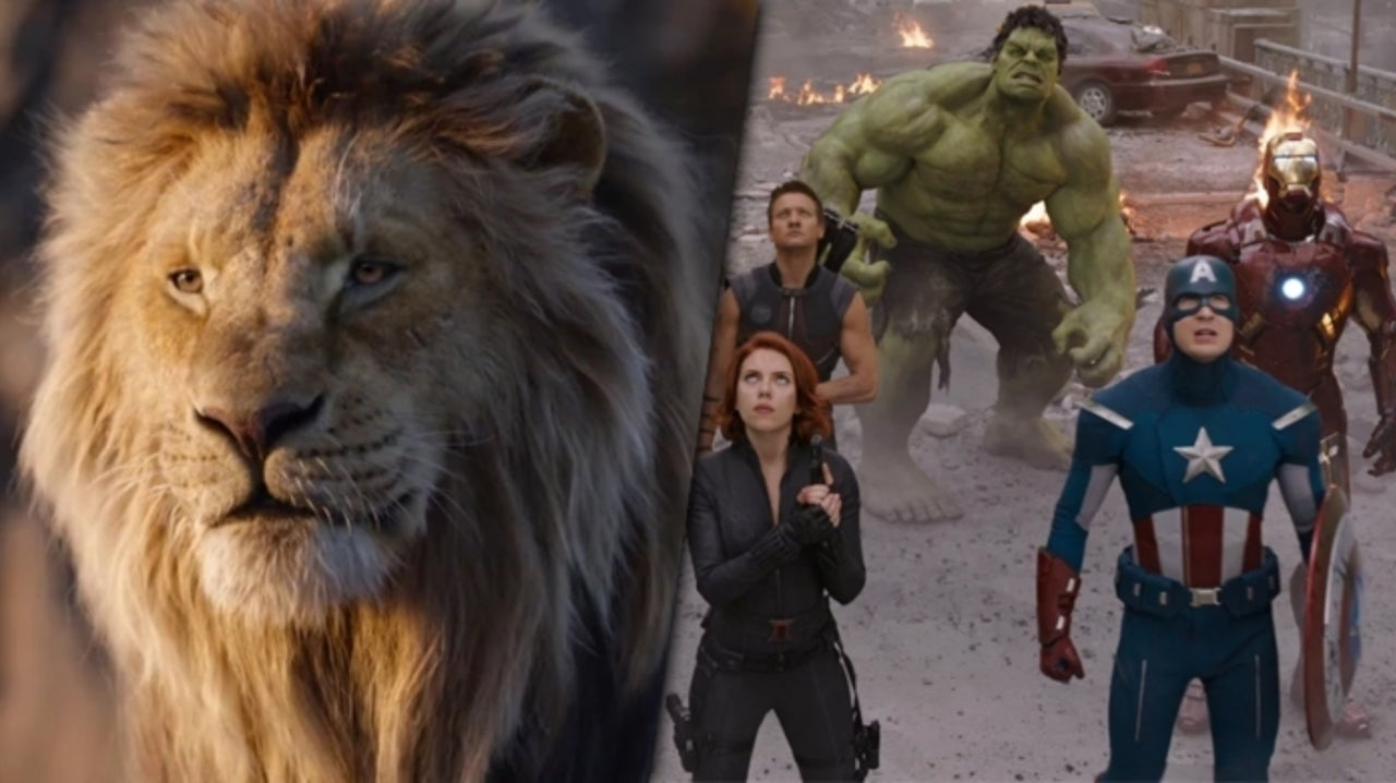 The Lion King Topples Marvel's The Avengers on All-Time Box Office Chart