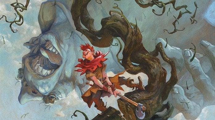 Magic Giant-Slayer Throne of Eldraine