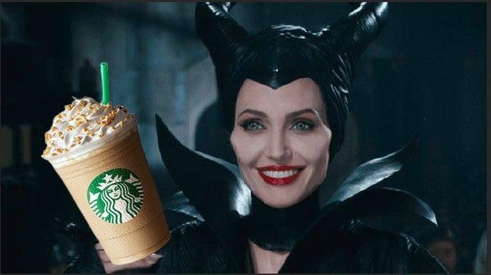 Disneyland Starbucks Releases New Maleficent Frappuccino