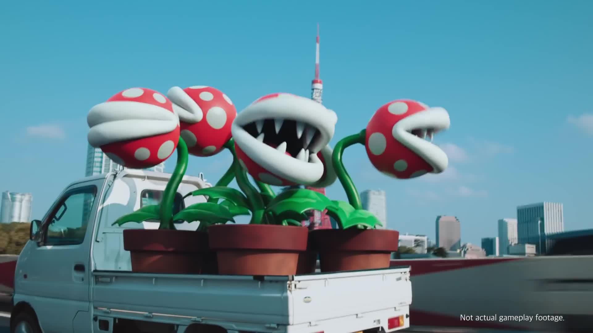 Mario Kart Tour - Tokyo Course Under Construction [HD] screen capture