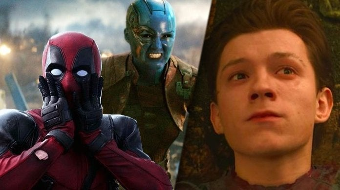 marvel avengers nebula deadpool spider-man