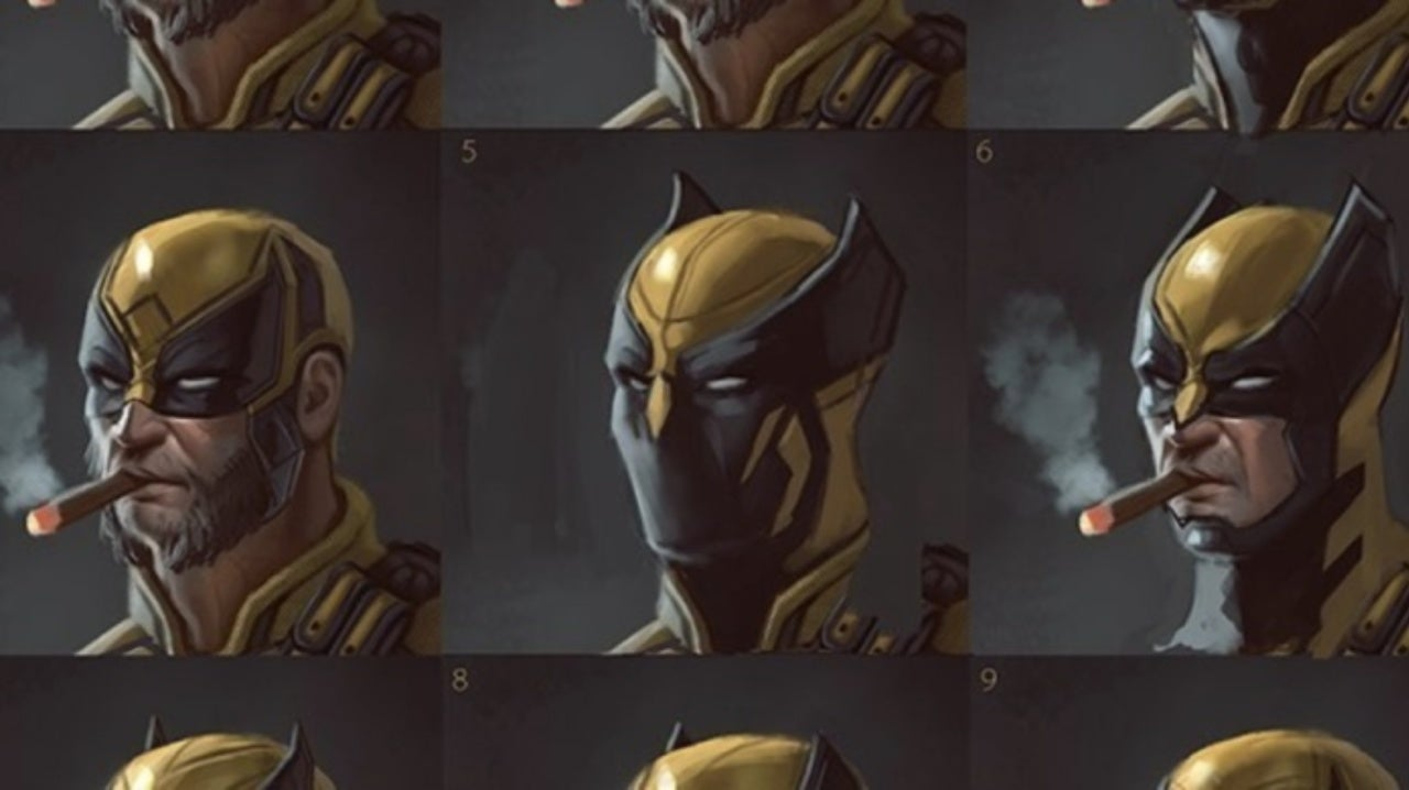 Wolverine mask alternative designs based on fan suggestions