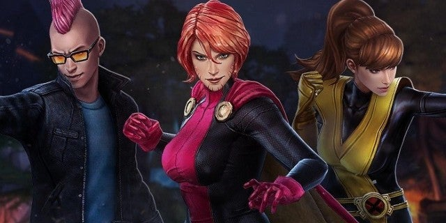 Marvel Future Fight Update Adds Kitty Pryde, Rachel Summers, and Kid Omega