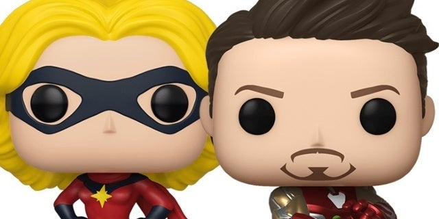 Funko's Giving Marvel Fans a Classic Ms. Marvel and Endgame Nano Gauntlet Iron Man POP at NYCC