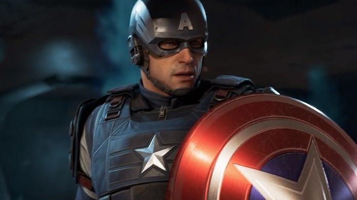 Marvel's Avengers Captain America Shield Redesign