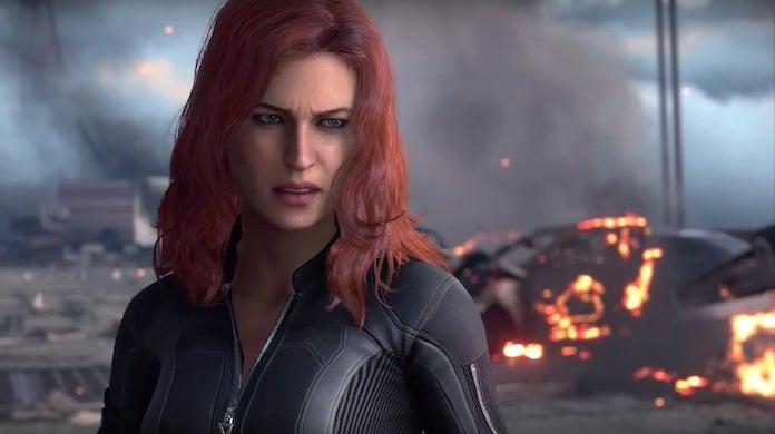 marvel's avengers marvels-avengers black widow
