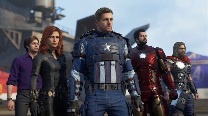 marvel's avengers marvels-avengers squad