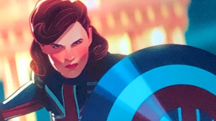 Marvel Studios What If Peggy Carter Captain Carter