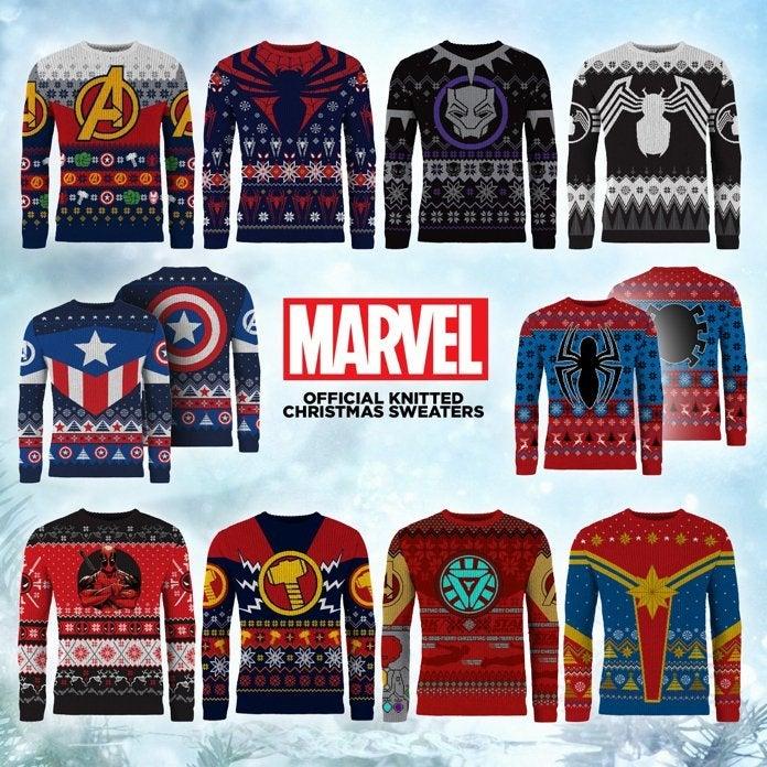 Marvel Boys Ugly Christmas Sweater