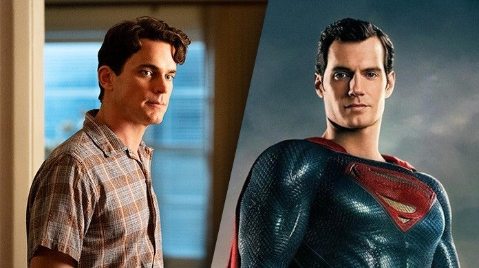 matt bomer henry cavill superman