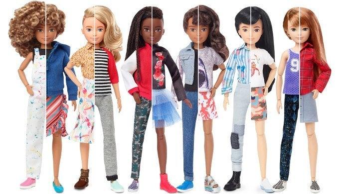 Mattel Creatable World Gender Neutral Dolls