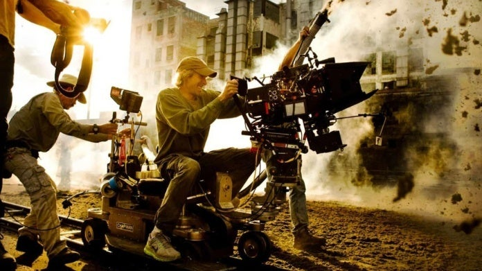 Michael Bay directing