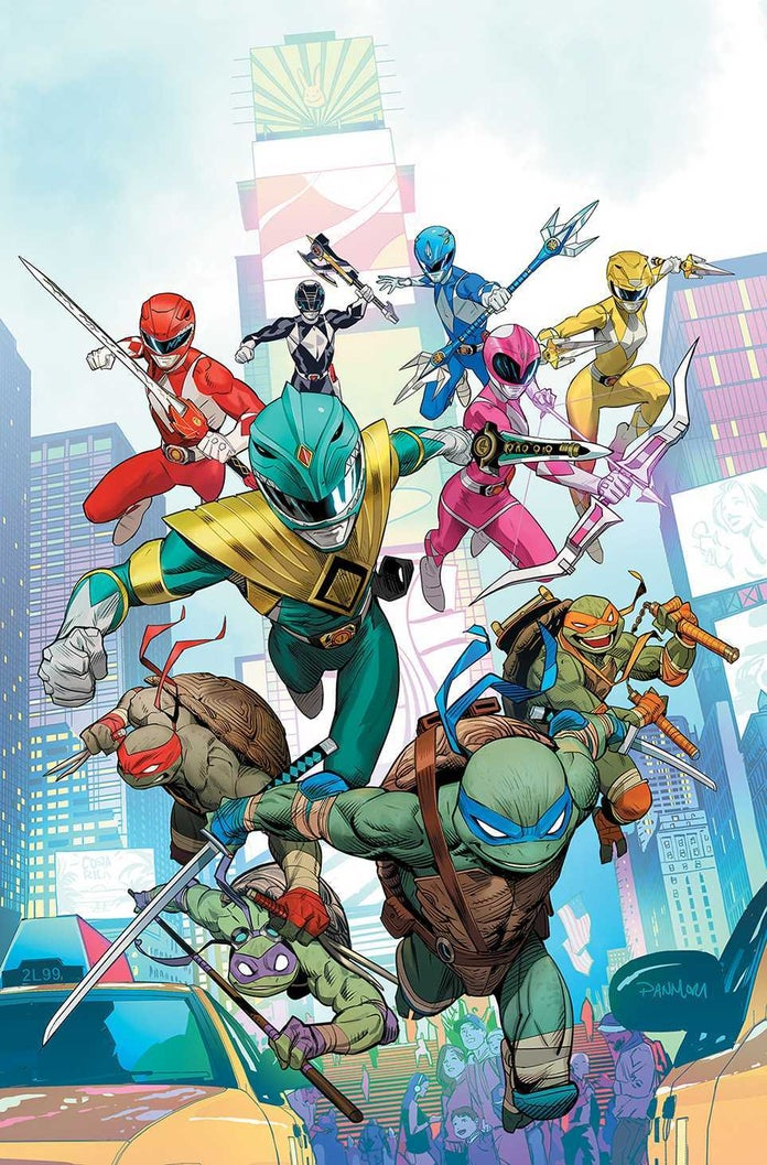 Mighty-Morphin-Power-Rangers-Teenage-Mutant-Ninja-Turtles-TMNT-Cover-1