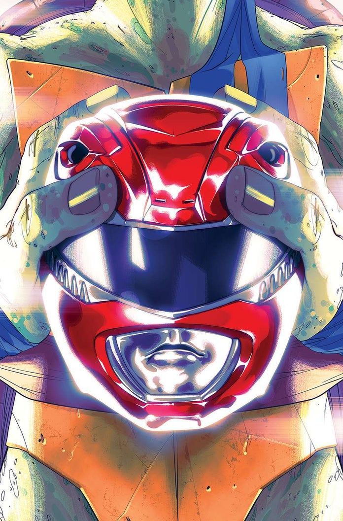 Mighty-Morphin-Power-Rangers-Teenage-Mutant-Ninja-Turtles-TMNT-Cover-Leonardo
