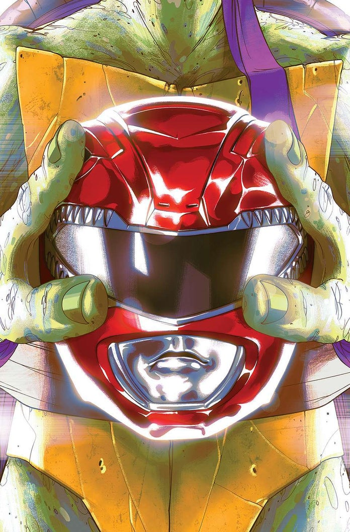 Mighty-Morphin-Power-Rangers-Teenage-Mutant-Ninja-Turtles-TMNT-Cover-Donatello