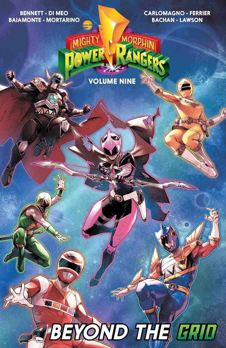 Mighty Morphin Power Ranges Vol 9