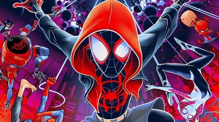 mondo into the spider verse poster