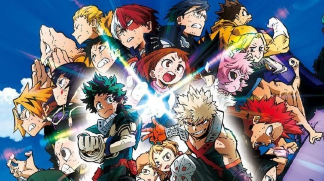 My Hero Academia Heroes Rising Shares Intense New Poster