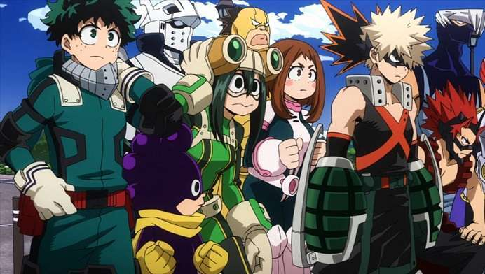 My Hero Academia Soldiers