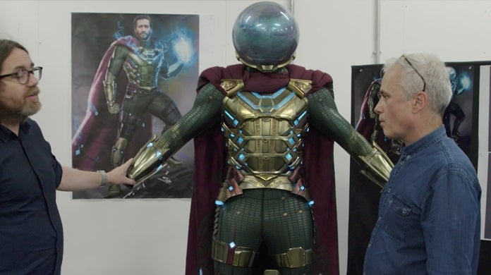 mysterio costume spider man far from home