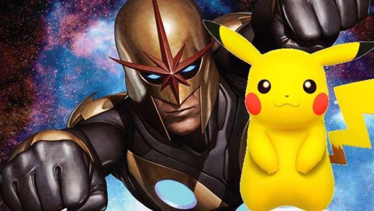 Marvel Teases Pikachu's History With The Nova Corps