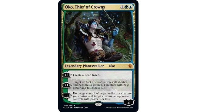 Oko Thief of Crowns