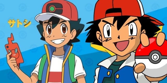 This Pokemon Chart Compares All of Ash Ketchum's Anime Designs