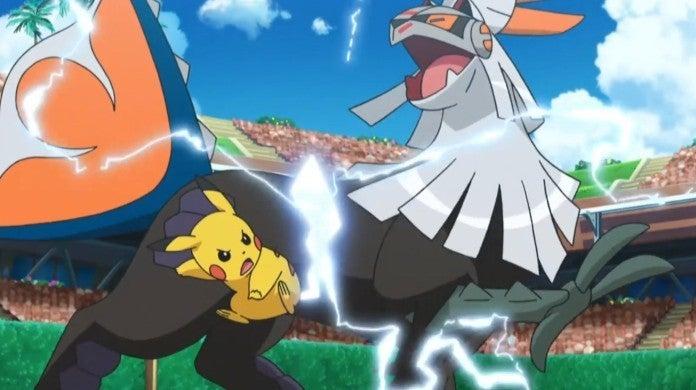 Pokemon Sun Moon Anime Episode 138 Pikachu Silvally