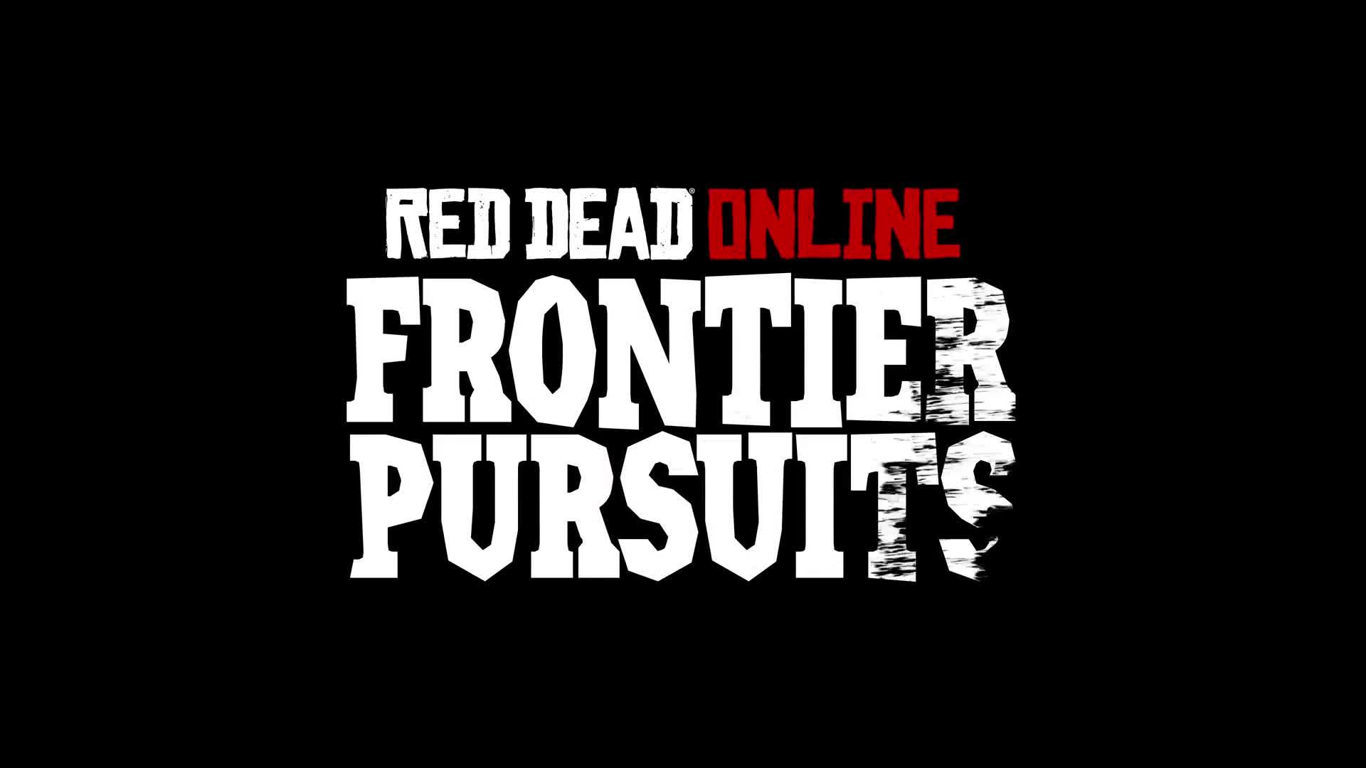 Red Dead Online: Frontier Pursuits [HD] screen capture