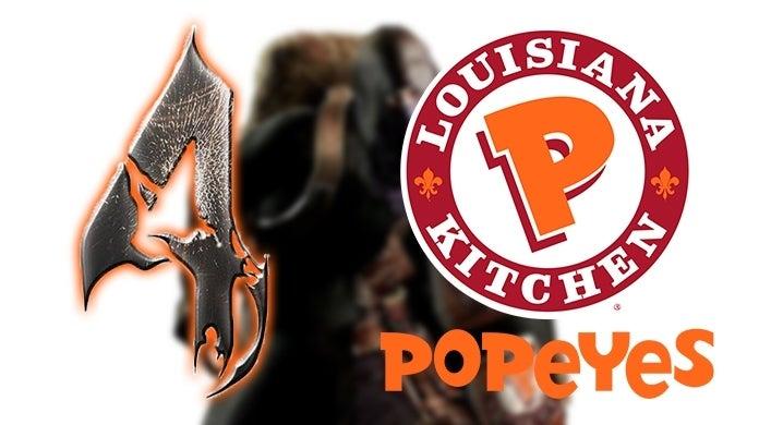 Resident Evil 4 Popeyes Chicken Sandwich BossLogic
