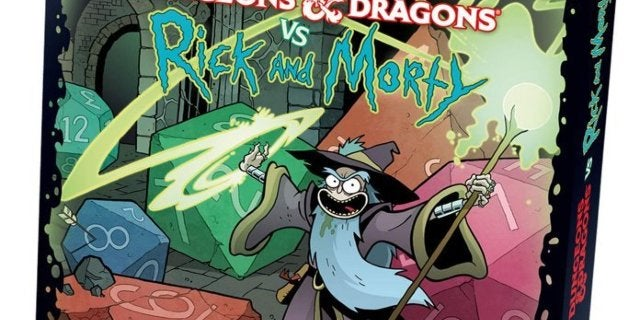 Get the New Dungeons & Dragons Rick and Morty Starter Set for Only $18