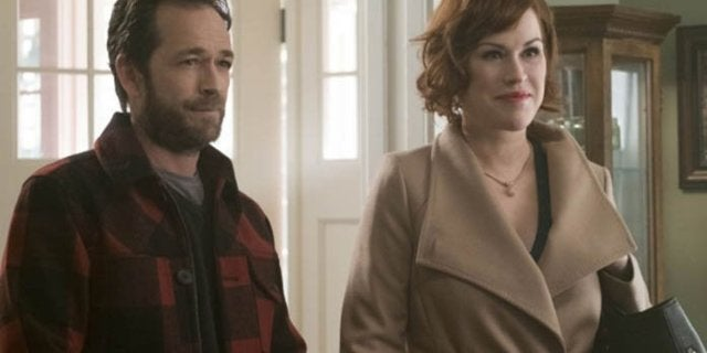 Molly Ringwald Remembers Riverdale Co-Star Luke Perry