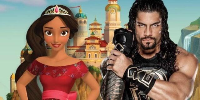 Roman Reigns Cast in Disney Junior Series Elena of Avalor