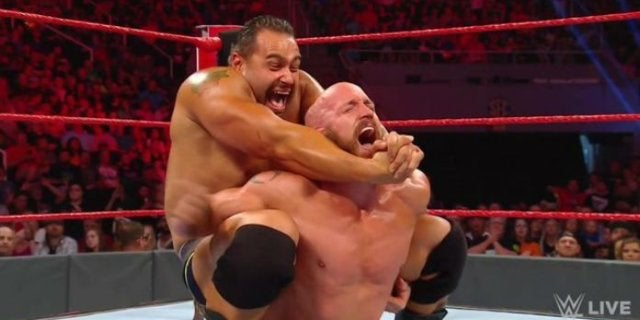 Rusev Returns on WWE Raw, Maria Kanellis Claims He's the Father of Her Unborn Child