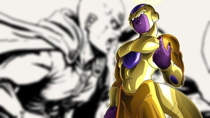 Saitama Freeza Dragon Ball One Punch Man Fan Art