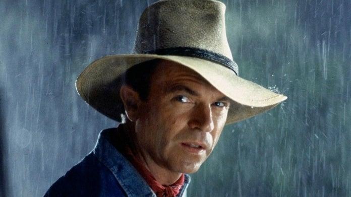 Sam Neill Jurassic Park Alan Grant