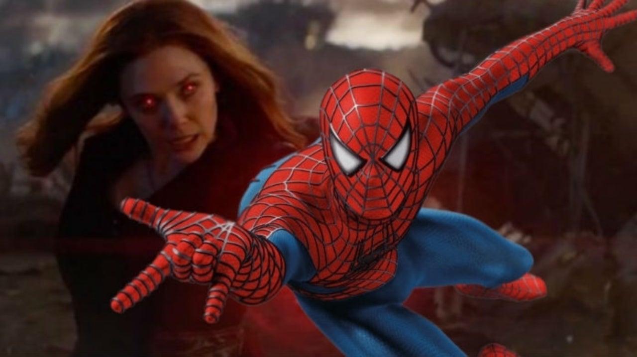 Marvel Star Elizabeth Olsen Shares the Best Welcome Back for Spider-Man