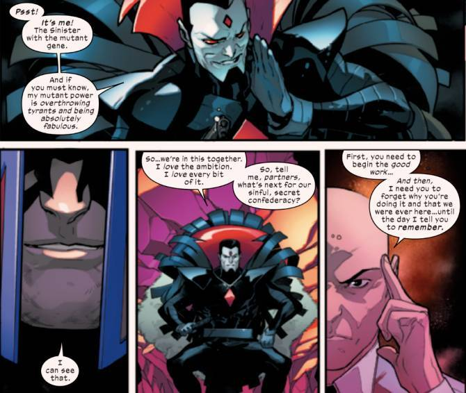 Marvel Reveals That Mr  Sinister's Mutant Gene Came From