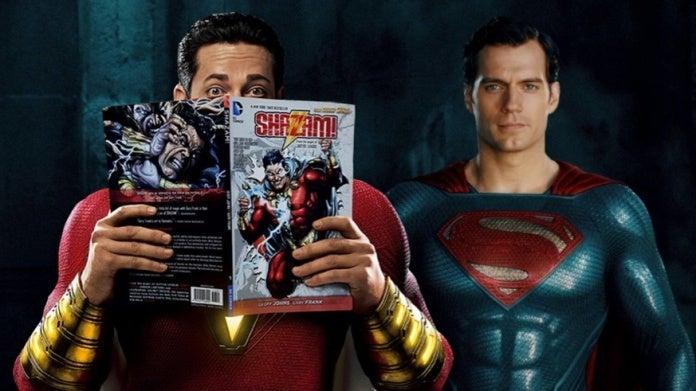 Shazam Superman Levi Cavill comicbookcom