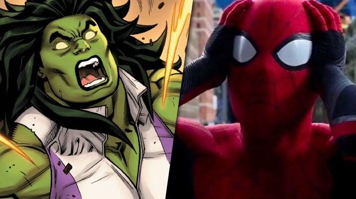 she hulk spider-man