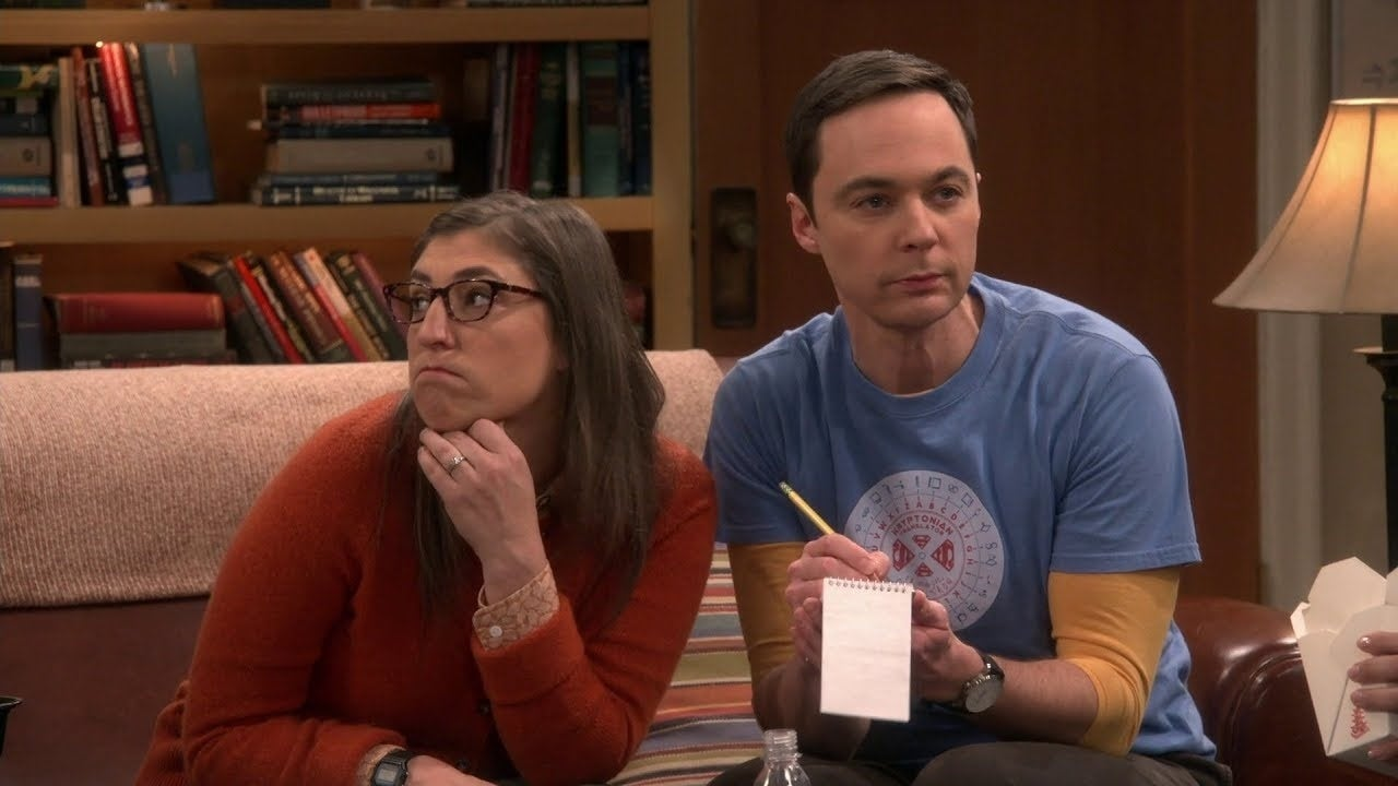 sheldon amy big bang theory