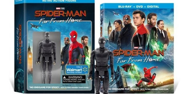 Spider-Man: Far From Home Blu-ray and Night Monkey Figure Bundle is Live