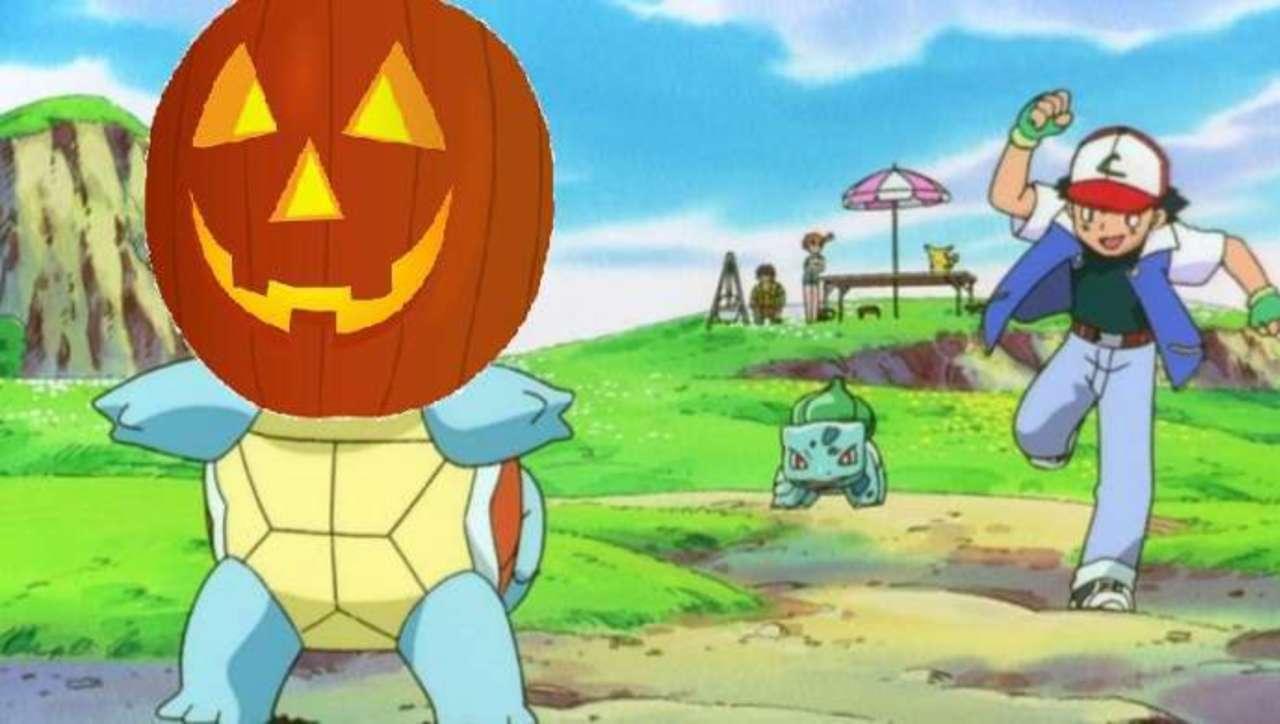 Cute Pokemon Artwork Imagines Squirtle's Perfect Halloween Look