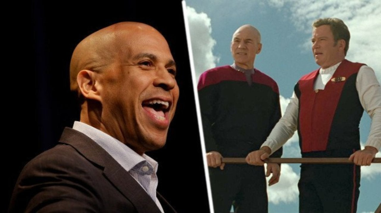 Senator Cory Booker Reveals His Favorite Star Trek Captain