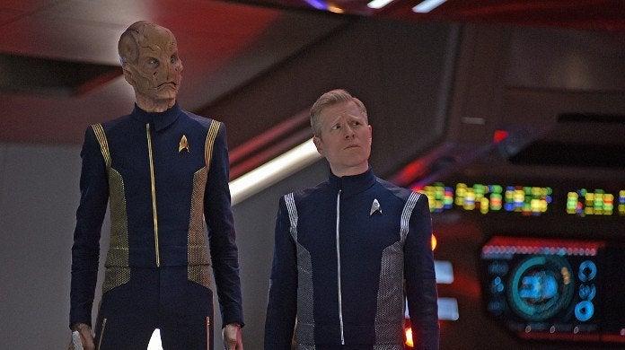 Star Trek Discovery Saru Stamets
