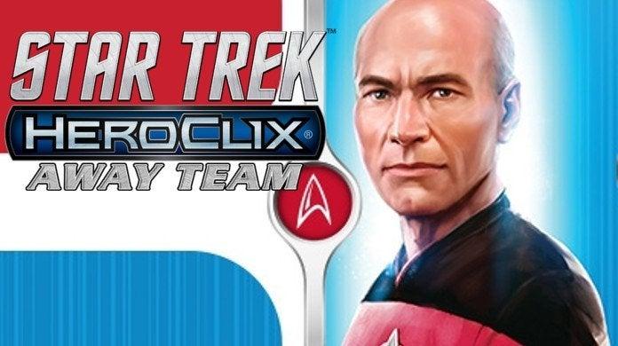 Star Trek HeroClix Away Team The Next Generation To Boldly Go