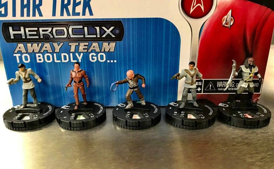 Star Trek The Next Generation HeroClix Away Team To Boldly Go  02