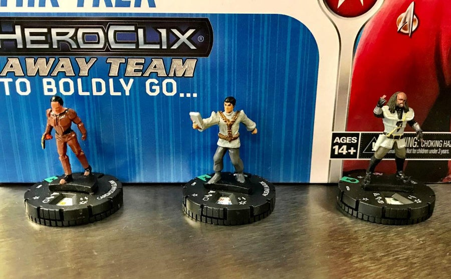 Star Trek The Next Generation HeroClix Away Team To Boldly Go  04