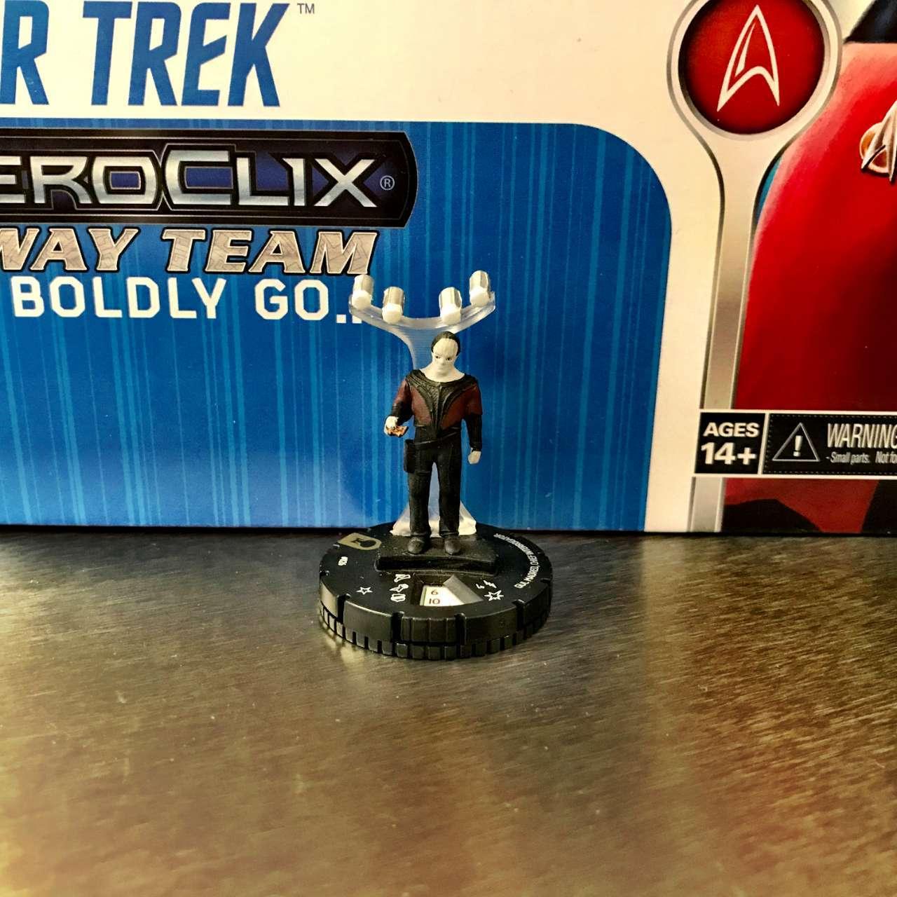 Star Trek The Next Generation HeroClix Away Team To Boldly Go  06
